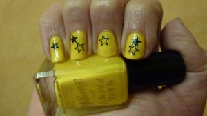 Stars: Barry M Nail Paint in Yellow