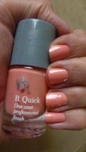 PB Quick one coat nail polish