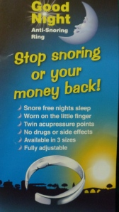 Good Night Anti-snore Ring