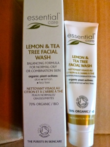 Essential Care, Lemon & Tea Tree Facial Wash