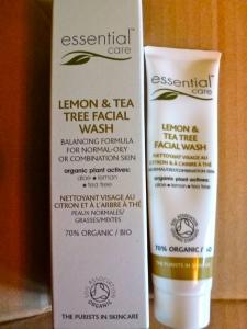 Essential Care, Lemon & Tea Tree Facial Wash