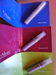 Dr Alkaitis Night Cream, Treatment Oil, Replenishing Serum