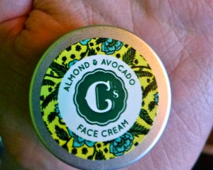 C's almond & Avocado Face Cream