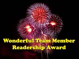 Womderful Team Member Readership Award