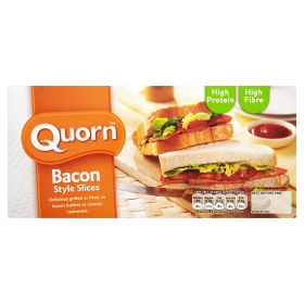 Quorn smokey 'bacon'
