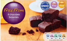 Tesco Free From choc brownies