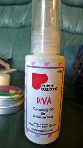 Peppy Galore, Diva Cleansing Oil for Sensitive Skin