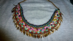 Tribal Statement Necklace - New Look