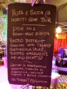 Pasta E Basta Moretti Gran Tour Manchester