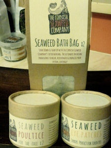 Beauty products by The Cornish Seaweed Company
