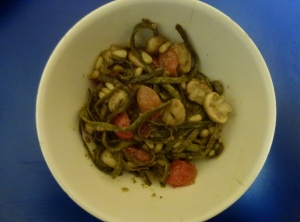 Stir fry with Sea Spaghetti from The Cornish Seaweed Company
