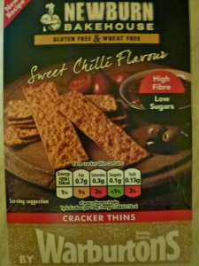 Warbutons New Bakehouse Sweet Chilli Cracker Thins