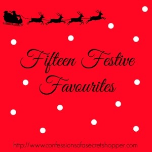 Fifteen Festive Favourites Tag
