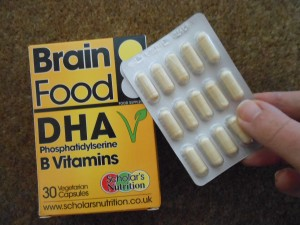 Brain Food DHA Scholar's Nutrition
