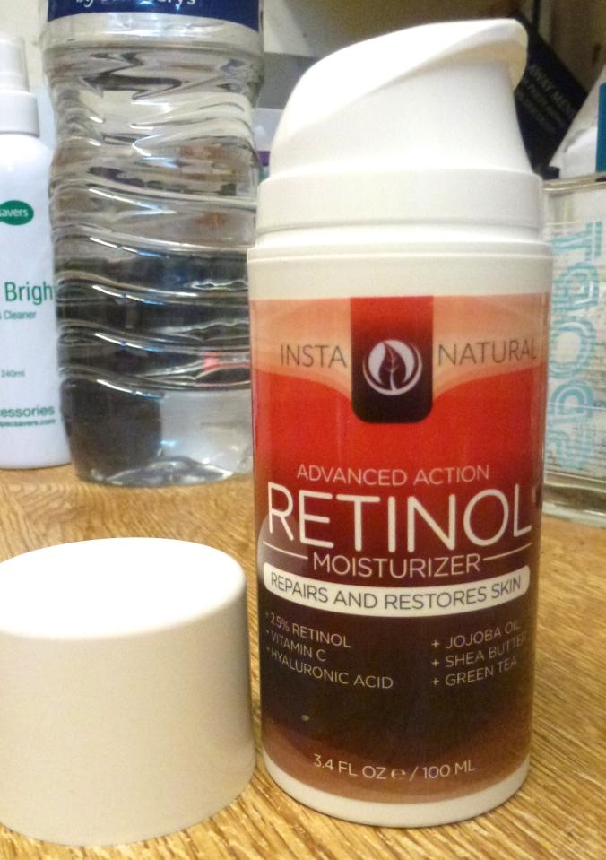 Retinol moisturiser