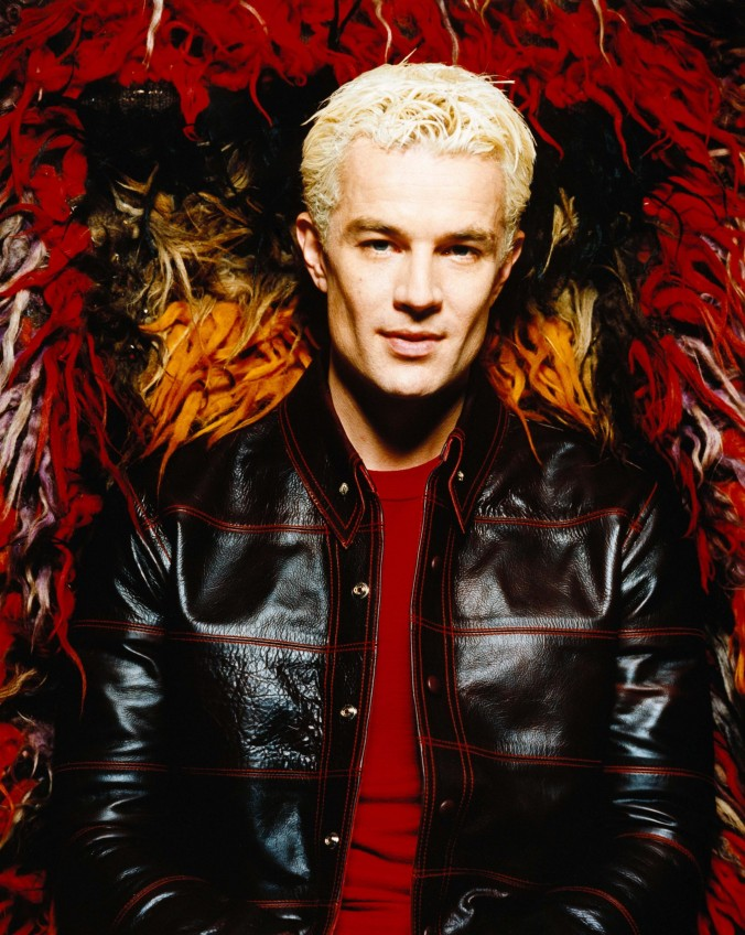 ca. 2000 --- Actor James Marsters in Black Leather Jacket --- Image by © James Minchin/CORBIS OUTLINE