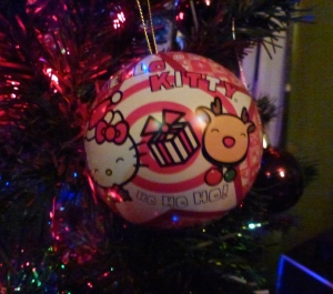 Bauble with jellies inside