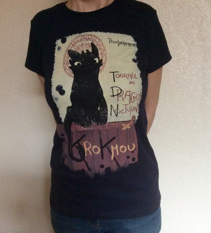 How to train your dragon tee