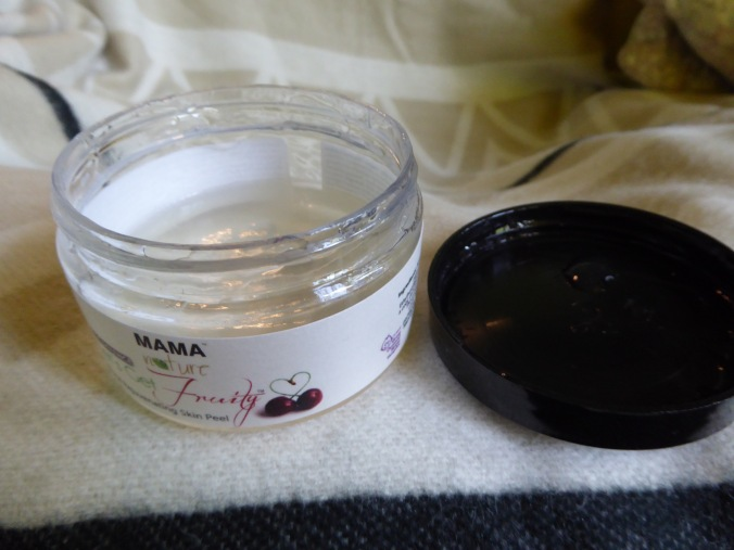 Mama Nature natural skin peel