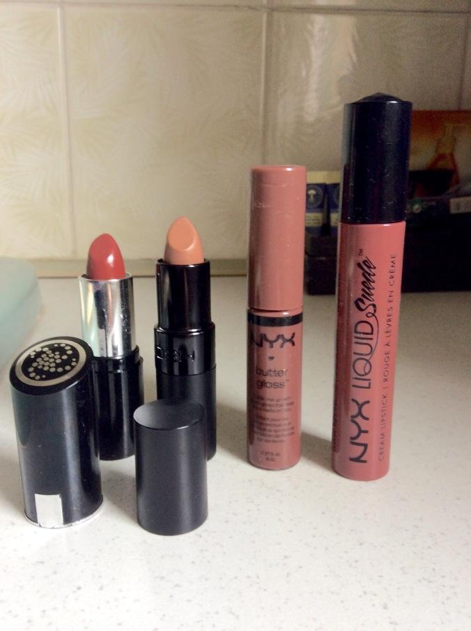 Brown lipsticks