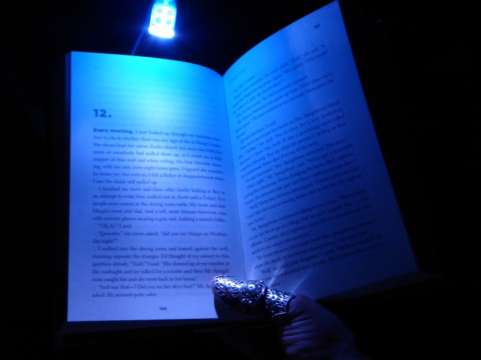 clip on reading light