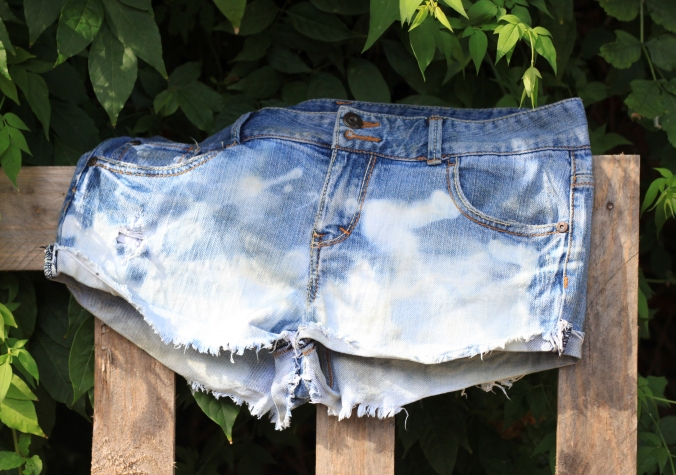 bleached jeans